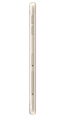 Samsung Galaxy J3 2017 Gold Side