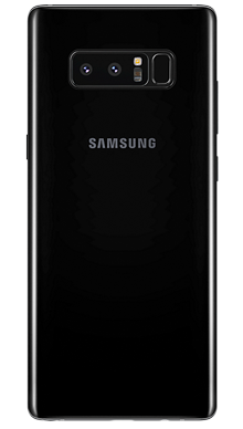Samsung Galaxy Note 8 Black Back
