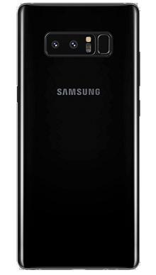 Samsung Galaxy Note 8 Black Nearly New Back