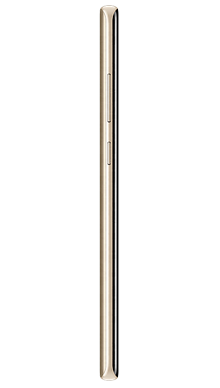 Samsung Galaxy Note 8 Gold Side