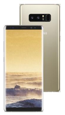 Samsung Galaxy Note 8 Gold