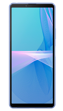 Sony Xperia 10 III 128GB Blue Front