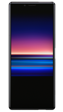 Sony Xperia 1 Black Front