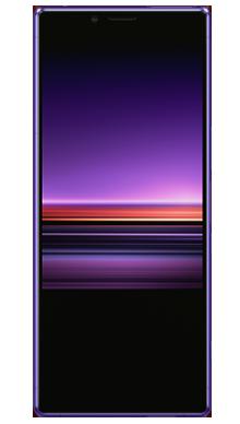 Sony Xperia 1 Purple Front