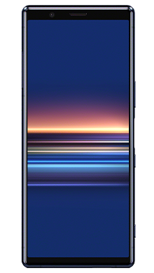 Sony Xperia 5 Blue Front