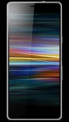 Sony Xperia L3 Silver Front