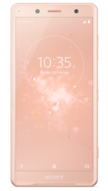 Sony Xperia XZ2 Compact Pink Front