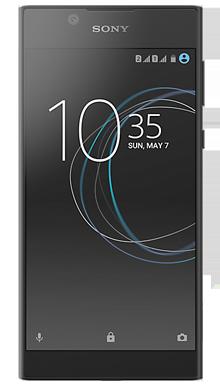 Sony Xperia L1 Black Front