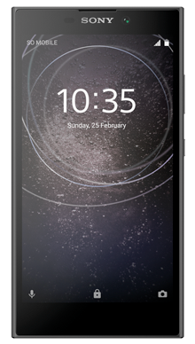 Sony Xperia L2 Black Front