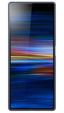 Sony Xperia 10 Blue Front